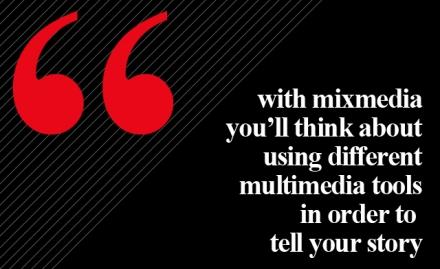 Mixmedia vs. multimedia